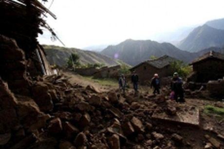Dong dat manh 6,3 do richter o nam Peru - Anh 1