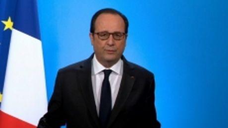 Tong thong Phap F. Hollande khong ra tai tranh cu - Anh 1