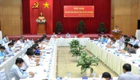 Hoi nghi Ban Chap hanh Dang bo tinh Kien Giang - Anh 1