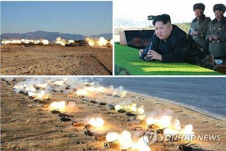 Han Quoc liet Chu tich Kim Jong-un vao danh sach den - Anh 1