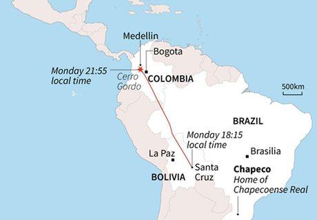 Colombia xac dinh nguyen nhan may bay roi lam 71 nguoi chet - Anh 2