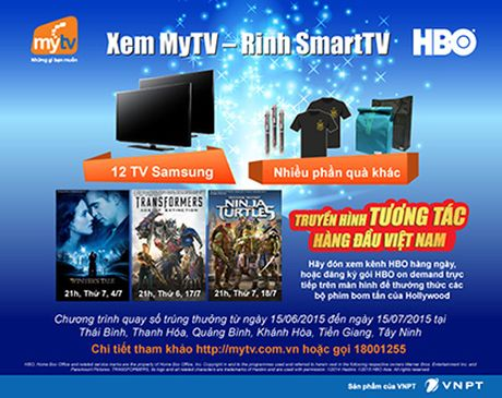 "VNPT Tien Giang trao thuong chuong trinh ""Hoa mang MyTV - Trung ngay Tivi"" - Anh 1"