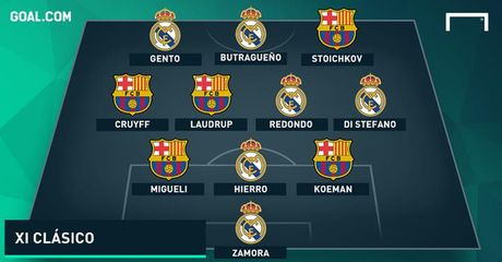 El Clasico: Doi hinh ket hop cac huyen thoai cua Barca voi Real - Anh 13