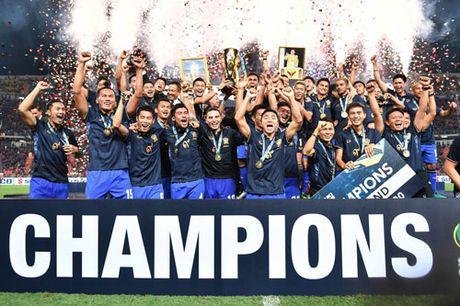 Vo dich AFF Cup 2016, Thai Lan nhan bao nhieu tien thuong? - Anh 1