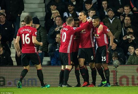 West Brom 0-2 Man United: Ai con dam che Ibrahimovic !? - Anh 1