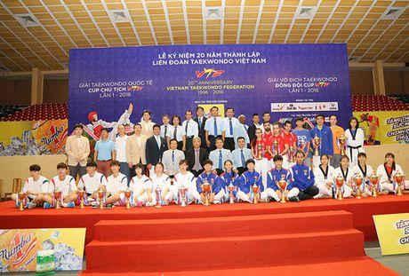 Viet Nam thang ap dao o Giai Taekwondo Quoc te Cup Chu tich VTF - Anh 1