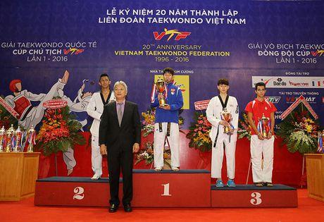 Viet Nam thang ap dao o Giai Taekwondo Quoc te Cup Chu tich VTF - Anh 2