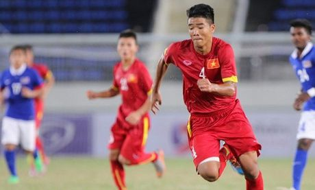 Truc tiep U21 Viet Nam vs U21 Myanmar giai U21 quoc te 2016 - Anh 1