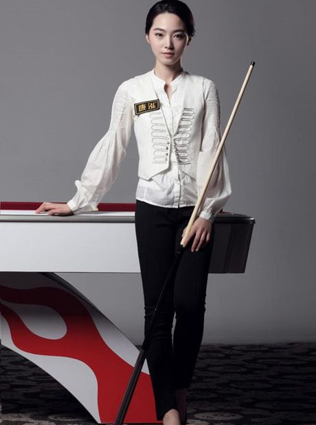 My nhan billiards Han Quoc khoe ve dep 'chet nguoi' - Anh 4