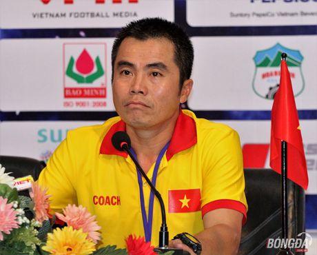 HLV Pham Minh Duc: 'U21 Viet Nam toan 'chet' phut cuoi' - Anh 1