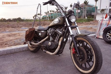 Dan choi Harley-Davidson 3 mien ram ro tien ve Sai Gon - Anh 12