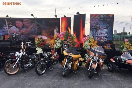 Dan choi Harley-Davidson 3 mien ram ro tien ve Sai Gon - Anh 7
