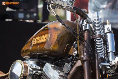 Dan choi Harley-Davidson 3 mien ram ro tien ve Sai Gon - Anh 8