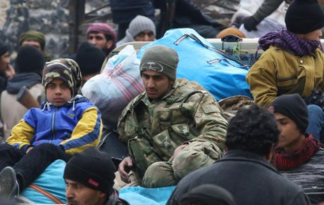 Dan so tan khoi dong thanh pho Aleppo qua anh - Anh 1