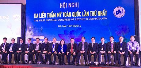 Hoi nghi Da lieu Tham my Toan quoc lan thu Nhat - Anh 1