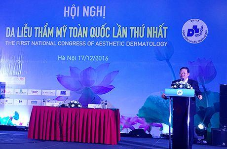 Hoi nghi Da lieu Tham my Toan quoc lan thu Nhat - Anh 2