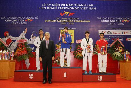 Viet Nam thang lon tai giai taekwondo quoc te tren san nha - Anh 2
