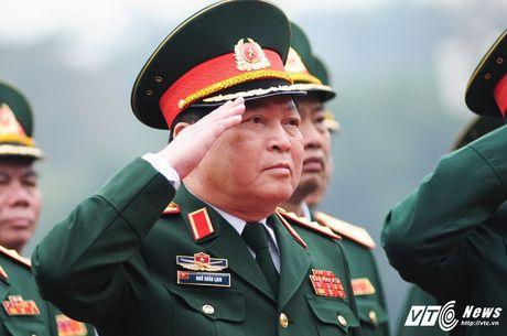 Lanh dao Dang, Nha nuoc vieng lang Chu tich Ho Chi Minh ky niem 70 nam Toan quoc khang chien - Anh 10