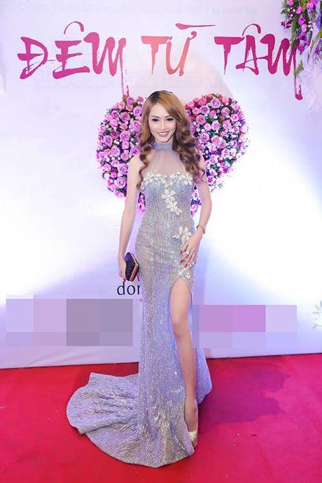 """Gai nhay"" Minh Thu dep doi, goi cam ben Nam vuong Pham Xuan Hien - Anh 8"