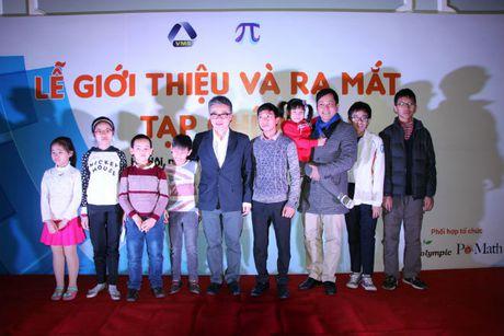 GS Ngo Bao Chau lam Pho Tong Bien tap tap chi Pi - Anh 3