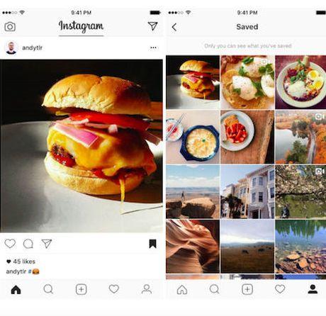 Instagram ra mat tinh nang luu bai dang giong Facebook - Anh 1