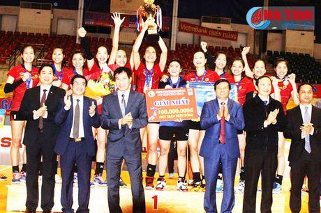Ngan hang Cong thuong doat Cup vo dich bong chuyen nu PV Gas 2016 - Anh 3