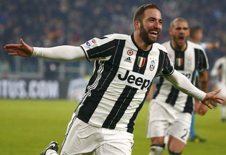 Higuain lap cong, Juventus quat nga Roma - Anh 1