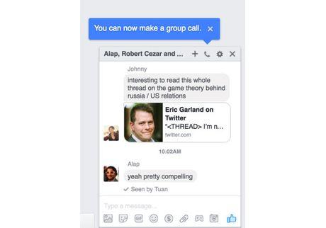 Facebook Messenger phien ban PC co tinh nang goi nhom - Anh 1