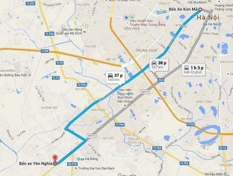 35 xe buyt nhanh Ha Noi chua duoc dang kiem - Anh 2