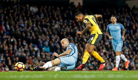 Ket qua tran Man City - Arsenal - Anh 1