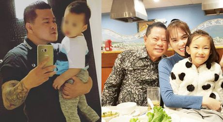 Chan dung con trai ty phu Hoang Kieu xem Ngoc Trinh la me - Anh 1