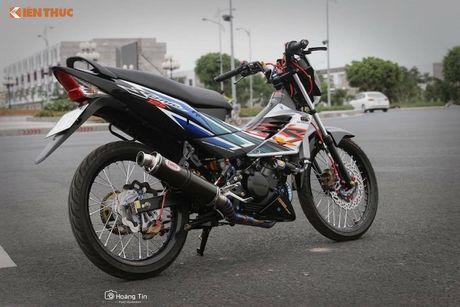 'Xe no' Honda Sonic 125 do sieu khung tai Viet Nam - Anh 10
