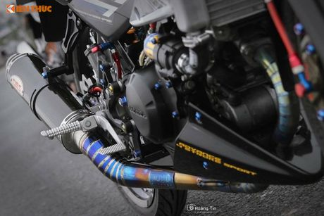 'Xe no' Honda Sonic 125 do sieu khung tai Viet Nam - Anh 8