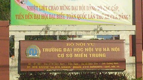 Truong Dai hoc Noi vu Ha Noi: Phat hanh HSMT nho giot? - Anh 1