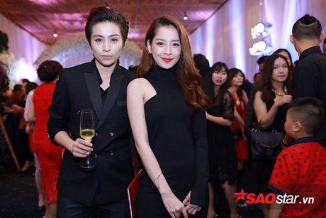 Toc Tien, Bao Anh va Xuan Lan dong loat dien vay Chanel trong dam cuoi Tran Thanh - Anh 5