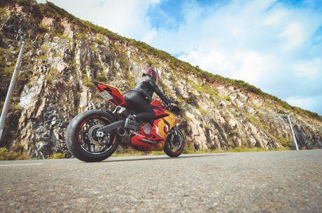 Nu biker 9X Sai Gon dam me Iron Man - Anh 10