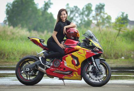 Nu biker 9X Sai Gon dam me Iron Man - Anh 12