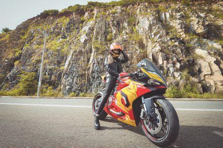 Nu biker 9X Sai Gon dam me Iron Man - Anh 1