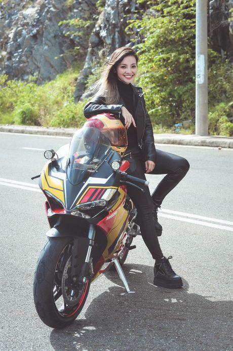 Nu biker 9X Sai Gon dam me Iron Man - Anh 2