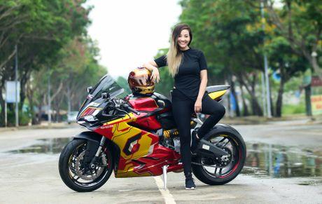Nu biker 9X Sai Gon dam me Iron Man - Anh 3