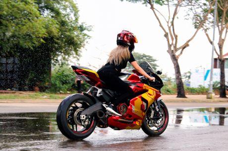 Nu biker 9X Sai Gon dam me Iron Man - Anh 5