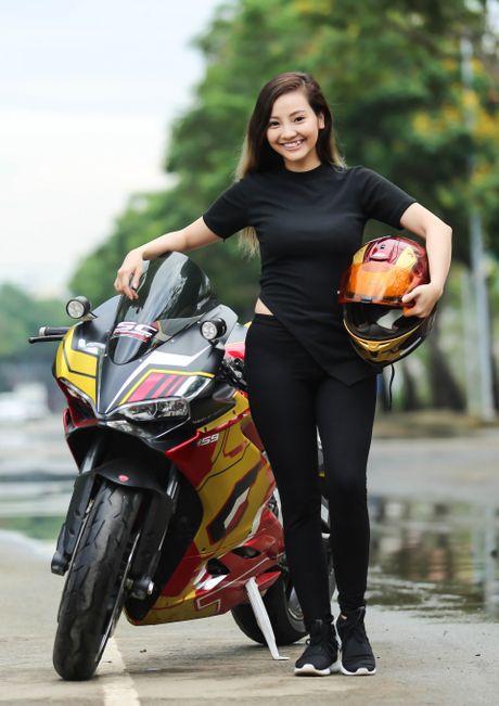 Nu biker 9X Sai Gon dam me Iron Man - Anh 6