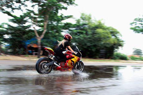 Nu biker 9X Sai Gon dam me Iron Man - Anh 7