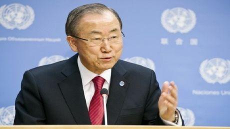 Tong thu ky Lien hop quoc Ban Ki-moon bi to nhan hoi lo - Anh 1
