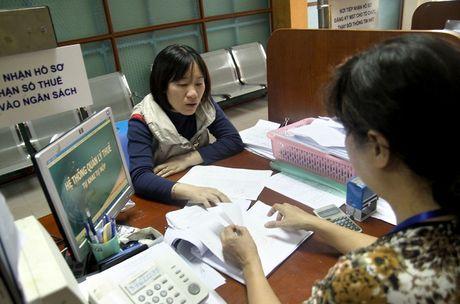 Nganh thue Ha Noi: Cap phep cho doanh nghiep chi can 30 phut nho CNTT - Anh 1
