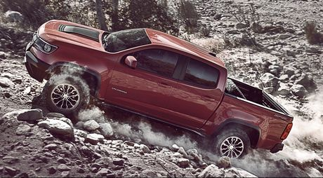Ban tai off-road Chevrolet Colorado ZR2 gia tu 40.995 USD - Anh 2
