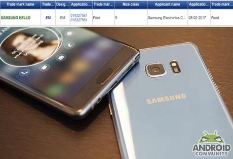 Galaxy S8 se co 2 tro ly ao thong minh? - Anh 1