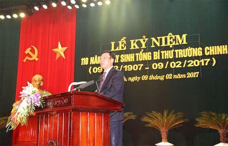 Nam Dinh: Long trong ky niem 110 nam ngay sinh Tong Bi thu Truong Chinh - Anh 1