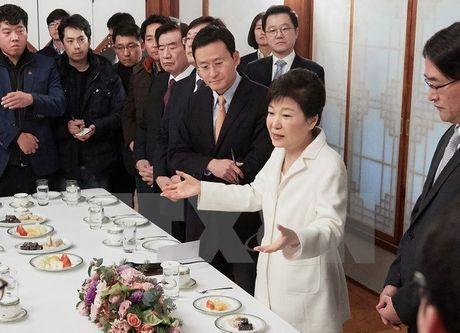 Cong to vien Han Quoc trieu tap thu ky cua ba Park Geun-hye - Anh 1