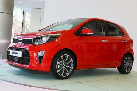 Kia Morning 2017 them ban the thao dung dong co turbo - Anh 1